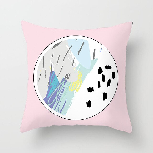 Vincent Pastel Cushion Cover Collection - Burnt Spaces