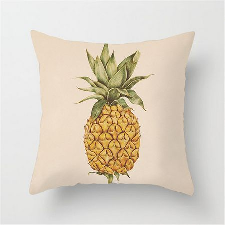 Tropical Pineapple Cushion Cover - Burnt Spaces
