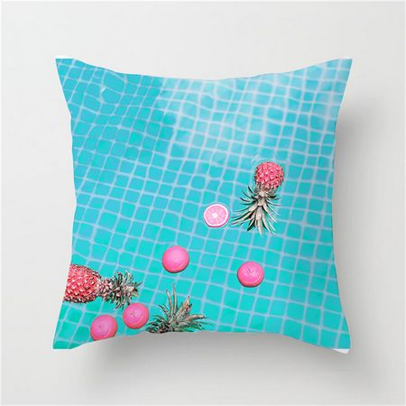 Colorful Fruit Retro Cushion Cover - Burnt Spaces