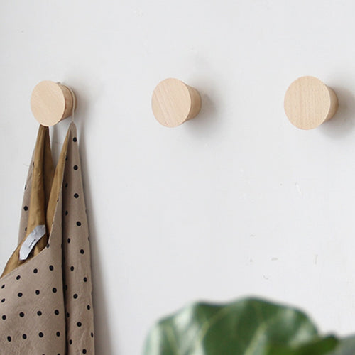 Nordic Beech Wood Hooks/Hangers - Burnt Spaces