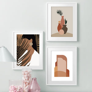 Botanic Babe Canvas Print - Burnt Spaces