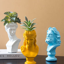 Load image into Gallery viewer, Grecian Statue Flowerpot - Burnt Spaces