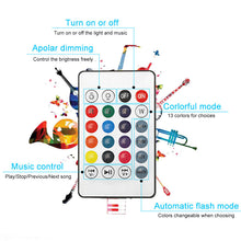 Load image into Gallery viewer, RGB Bluetooth Speaker Dimmable 12W LED Bulb Light 12W