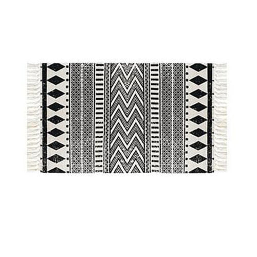 Kara Printed Rug - Burnt Spaces