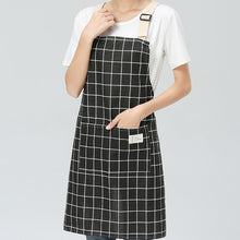 Load image into Gallery viewer, Cotton Linen Kitchen Aprons - Burnt Spaces