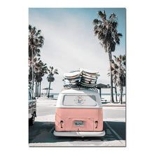 Load image into Gallery viewer, Tropical VW Canvas Prints - Burnt Spaces