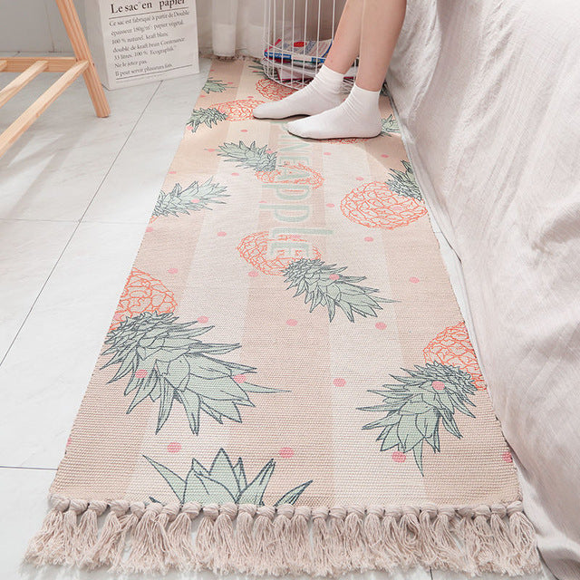Pineapple Stretch Rug - Burnt Spaces