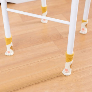 Cat Paw Chair Sock Set - Burnt Spaces