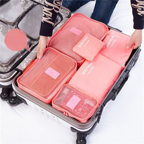 Luggage Organizer 6PCs/ Travel Bag Set