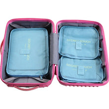 Load image into Gallery viewer, Luggage Organizer 6PCs/ Travel Bag Set - Burnt Spaces