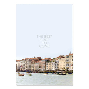 Best Is Yet To Come Canvas Print - Burnt Spaces