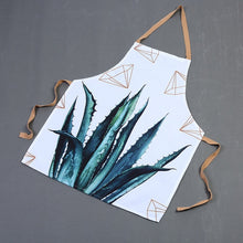 Load image into Gallery viewer, Diamond Cotton Linen Kitchen Apron - Burnt Spaces