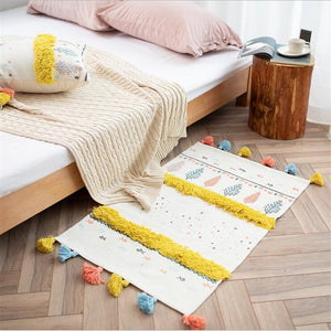 Sally Tufted Throw Rug - Burnt Spaces