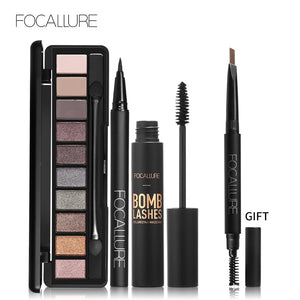 FOCALLURE Stunning Eye Set - Burnt Spaces