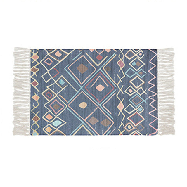 Valarie Printed Rug - Burnt Spaces