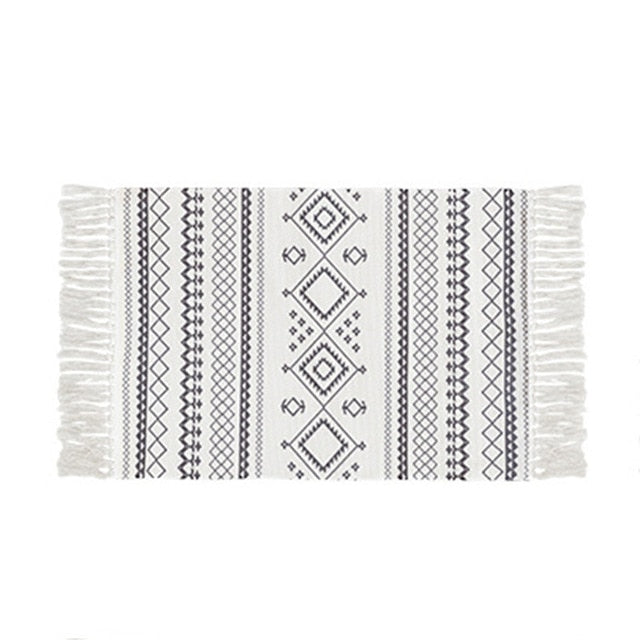 Tori Printed Mayan Rug - Burnt Spaces