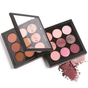 FOCALLURE 9 Color Artist Eyeshadow Palette - Burnt Spaces