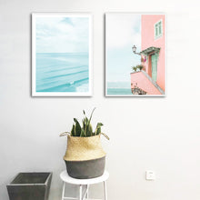 Load image into Gallery viewer, Blue Waters Canvas Print - Burnt Spaces