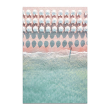 Load image into Gallery viewer, Retro Beach Canvas Print - Burnt Spaces