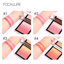 Load image into Gallery viewer, FOCALLURE Long-lasting  Ombre Blusher - Burnt Spaces