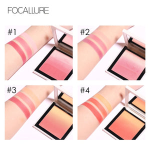 FOCALLURE Long-lasting  Ombre Blusher - Burnt Spaces