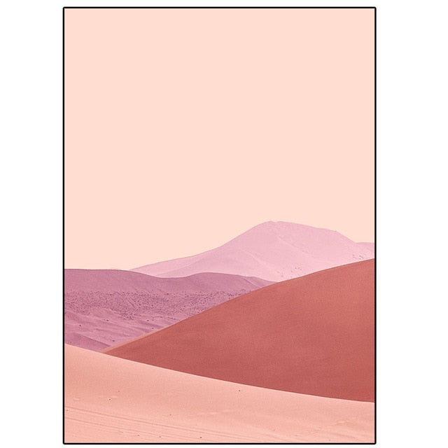 Pink Desert Prints - Burnt Spaces