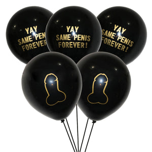 Yay Same Penis Forever 10Pcs/lot 12inch Balloons