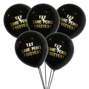 Yay Same Penis Forever 10Pcs/lot 12inch Balloons - Burnt Spaces