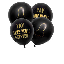 Load image into Gallery viewer, Yay Same Penis Forever 10Pcs/lot 12inch Balloons - Burnt Spaces