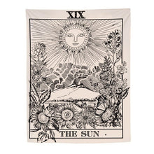 "Load image into Gallery viewer, ""The Sun"" Tarot Tapestry"