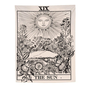 """The Sun"" Tarot Tapestry - Burnt Spaces"