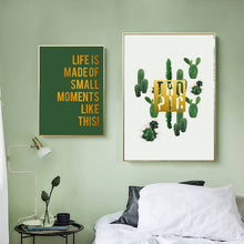 Load image into Gallery viewer, Cactus Canvas Print