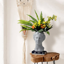 Load image into Gallery viewer, Venus Statue Head Vase Dark Gray - Burnt Spaces