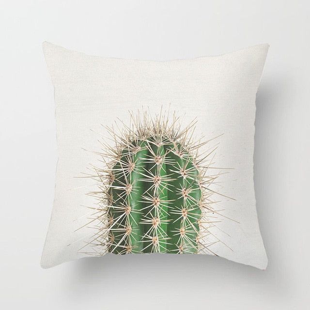 Prickly Cactus Cushion Cover - Burnt Spaces
