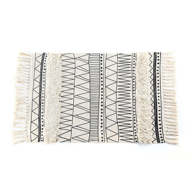Maya Tufted Throw Rug - Burnt Spaces