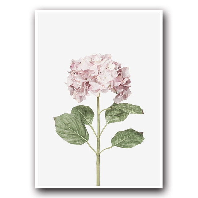 Flower Canvas Print - Burnt Spaces