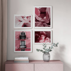 Pink Canyon Canvas Print - Burnt Spaces