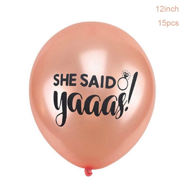 She Said Yaaas Balloon Set - Burnt Spaces
