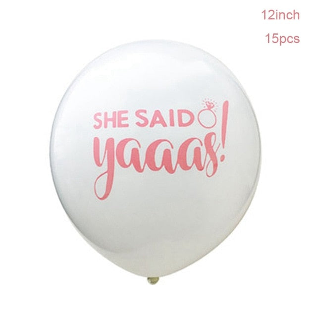 She Said Yaaas Balloon Set