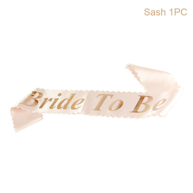 Bride to Be Sash - Burnt Spaces