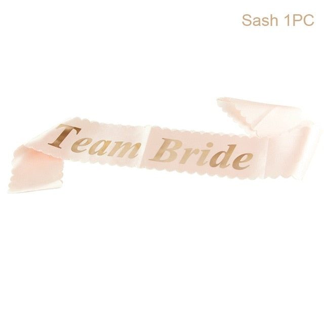 Team Bride Sash - Burnt Spaces