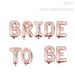 Bride To Be Balloon Letters - Burnt Spaces