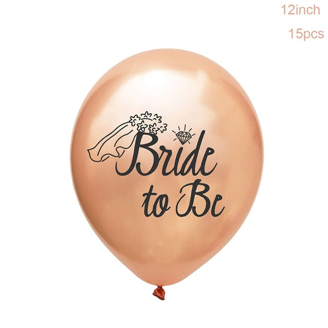 Bride To Be Balloon Set - Burnt Spaces