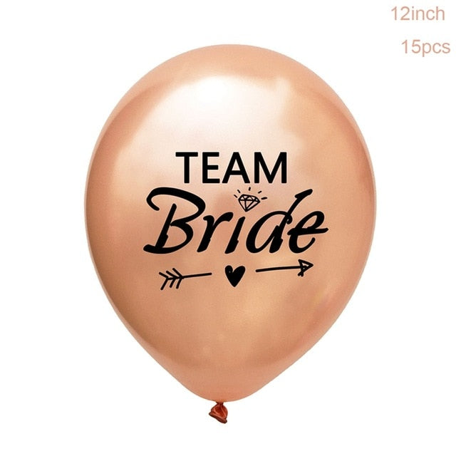 Team Bride Balloon Set - Burnt Spaces