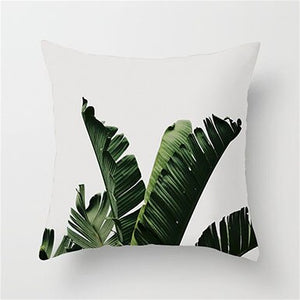 Fuwatacchi Tropical Leaves Cushion Cover
