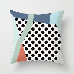 Artistic Dotted Cushion Cover - Burnt Spaces