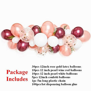 Balloon Garland Kit 57PCS/Set - Burnt Spaces