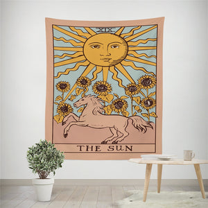 """The Sun"" Tarot Tapestry"