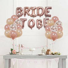 Load image into Gallery viewer, Bridal Rose Gold Decoration Kit. - Burnt Spaces