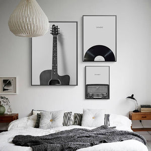 Nostalgic It's Music Canvas Print